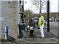H5467 : Workmen, Beragh by Kenneth  Allen