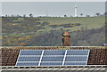 J3785 : Solar panels, Greenisland (April 2016) by Albert Bridge