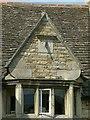 SK9200 : Gable with sundial on Sundial House, Morcott by Alan Murray-Rust