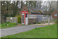 TQ0036 : Phone box, Dunsfold by Alan Hunt
