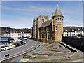 SN5881 : Yr Hen Coleg, Aberystwyth by David Dixon