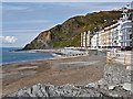 SN5882 : Aberystwyth North Beach and Constitution Hill by David Dixon