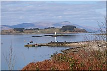 NM9045 : Port Appin and Shuna Island by Jim Barton