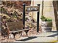 SN6878 : Aberffrwd Railway Station by David Dixon