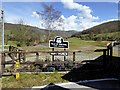 SN6778 : Nantyronen Station Car Park from the Level Crossing by David Dixon