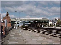 SO5140 : Hereford railway station by Tim Glover