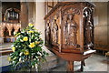 SK7053 : Pulpit, Southwell Minster by J.Hannan-Briggs