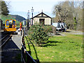 SN6479 : Maintenance Vehicle on Passing Loop at Capel Bangor Station by David Dixon