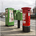 O1434 : Postboxes, Dublin by Rossographer