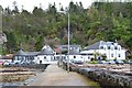 NM9045 : The Pierhouse Hotel, Port Appin by Jim Barton