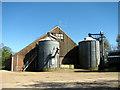 TG0527 : Unusual farm shed by Evelyn Simak