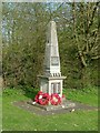 SP9396 : War memorial, Spanhoe Airfield by Alan Murray-Rust