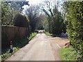 TQ7048 : Emmet Hill Lane, Benover by Chris Whippet