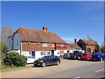 TQ7048 : The Woolpack Inn, Benover by Chris Whippet