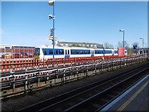 TQ1185 : A Chiltern train at South Ruislip station by Marathon