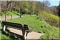 NS3923 : Picnic Area, River Ayr by Billy McCrorie