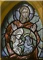 SK7053 : Angel window(3), Southwell Minster by Julian P Guffogg