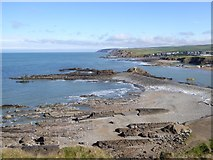 SS2006 : The breakwater at Bude and rocky beaches by David Smith
