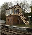 SO0561 : Signal box, Llandrindod Wells by Julian Osley