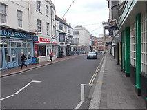 SY6778 : St Edmund Street - St Thomas Street by Betty Longbottom