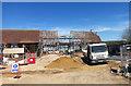 SU4571 : Rebuilding a Barn by Des Blenkinsopp