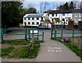 ST1479 : National Cycle Network Route 8, Hailey Park, Llandaff North, Cardiff by Jaggery
