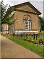 SE2812 : Bretton Estate Chapel, Yorkshire Sculpture park by David Dixon