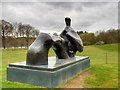 SE2812 : Reclining Figure: Arch Leg at Yorkshire Sculpture Park by David Dixon
