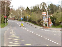 TQ5359 : The North Downs Way near Otford station by Dave Kelly