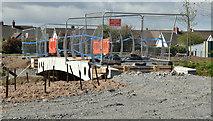 J3673 : New footbridge, Knock River, Belfast - April 2016(1) by Albert Bridge
