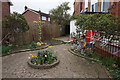 TA0728 : Small garden at Selby Street Mission, Hull by Ian S