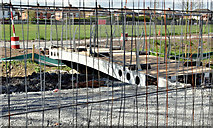 J3673 : New footbridge, Knock River, Belfast - April 2016(2) by Albert Bridge