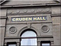 NS2776 : Former Cruden Hall by Thomas Nugent