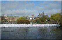 SK3536 : Weir on the River Derwent by Richard Sutcliffe