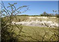 SE9143 : Kiplingcotes  Chalk  Pit  from  Hudson  Way by Martin Dawes