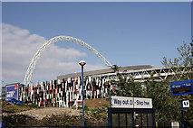 TQ1985 : Wembley Stadium by Peter Trimming