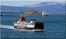 NM8529 : MV Loch Striven in Oban Bay by The Carlisle Kid