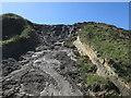 TG2739 : Landslide at Trimingham by Hugh Venables