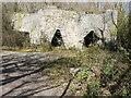 ST5347 : Derelict lime kilns by John Baker