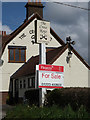 TM1552 : The Cross Keys Public House sign by Adrian Cable
