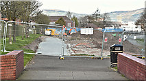 J3673 : Connswater path works, Belfast - April 2016(4) by Albert Bridge