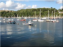 SX8751 : Boats in Dartmouth Harbour by Philip Halling