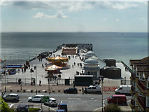 TQ8109 : Hastings Pier - reopening day by Robin Webster
