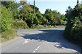 TR2648 : Approaching Eythorne Rd by N Chadwick
