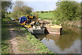 SP4823 : Dredging operations on the Oxford Canal by Roger Templeman