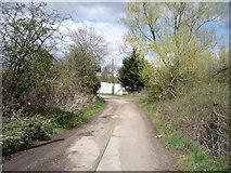 TQ3097 : Farm track, Enfield by JThomas