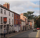 SK7519 : Leicester Street, Melton Mowbray, Leics. by David Hallam-Jones