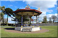NX0660 : Stair Park Bandstand, Stranraer by Billy McCrorie