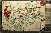 TQ1979 : London Underground Map c.1910 by Ian Taylor