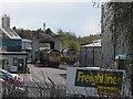 SE3131 : Hunslet Freightliner depot (2) by Stephen Craven